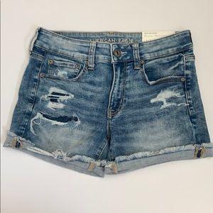 American Eagle jean shorts
